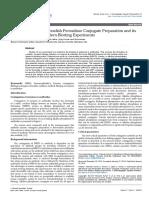 Antihuman Igghorseradish Peroxidase Conjugate Preparation and Its Use in Elisa and Western Blotting Experiments 2157 7064.1000211