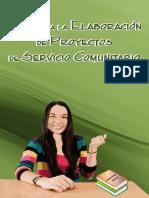Guía Para Elaboración de Proyectos Del Servicio Comuntario
