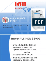 Canon ImageRUNNER 3300E