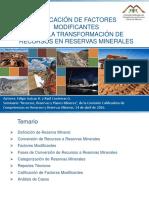 3 - Aplicacin de FM Para La Conversin de Recursos en Reservas Minerales-Rev 1