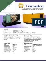 TNK50C Taneko Industrial Generator (Tnk Jkt)