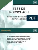 Administracion Test Rorschach