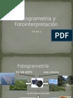 Fotogrametría y Fotointerpretación