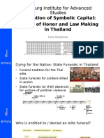 Medals of Honor and Legislation in Thailand