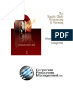 Fdo Delgado_CRM - 3rd Supply Chain Forecasting & Planning_Memorias (Memoriasforo)