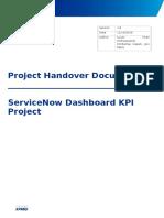 SDK Handover Report(1.1)
