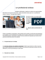 7 Claves Profesional Exitoso