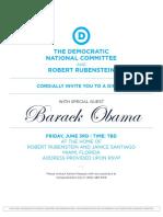 060316 POTUS Miami Invite