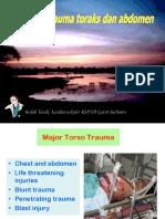 8. Trauma Toraks & Abd Dr Andreas