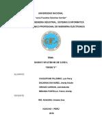 Informe Del Robot Seguidor de Linea