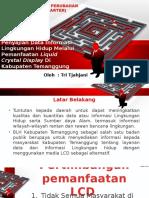 Presentasi Proker BLH Kab Temanggung