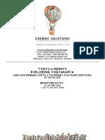 Daebak Vacations - 7d6n Explore Yogya (Aadc2) Dep. Oct-sep by Id