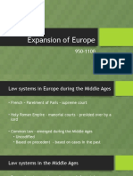 Expansion of Europe Powerpoint