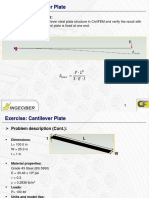 2.CivilFEM.cantilever.plate