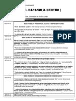 Programa Oficial  Primer Congreso Historia Indigena de Chile