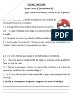 Estudo Do Texto Pokemon