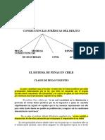 11.-Sistema de Penas en Chile y Las Consecuencias Juridicas Del Delito