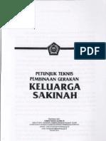 Petunjuk Teknis Pembinaan Gerakan Keluarga Sakinah