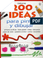 200 Ideas Para Dibujar y Pintar
