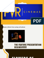 Service Marketing - Pvr Cinemas