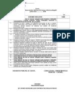Model Cerere Pentru Acordare Sume Defalcate - 2016