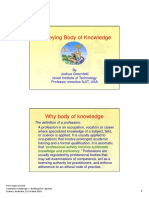 Surveying Body of Knowledge_Prof Joshua Greenfeld_2010_ppt