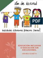 5.- Educación Inclusiva o Educación Sin Exclusiones