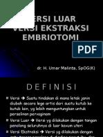 Versi Luar, Versi Ekstraksi, Embriotomi Baru