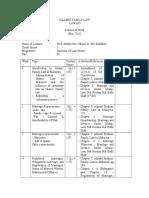 LAW605 Scheme of Work -Sept 2014