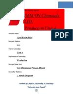 Descon internship report