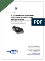 PL 2303HXD Datasheet