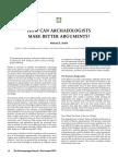 MES 15 Arguments
