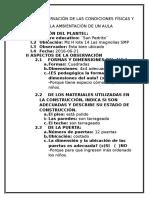 Guia de Observación de Las Condiciones Físicas y