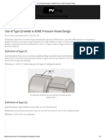 Use of Type (3) Welds in ASME Pressure Vessel Design _ PVEng