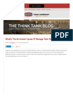 What's the #1 Known Cause of Storage Tank Fires