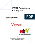 SWOT Analysis of AMAZON and E-bay