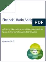 Financial Ratio Analysis Dec 2013