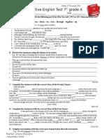 Test Clasa 7 a Sanpshot Intermediate