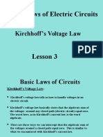 Lesson 3 Basic Circuit Laws