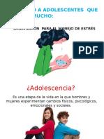 Orientación Para El Manejo de Estrés Adolescentes