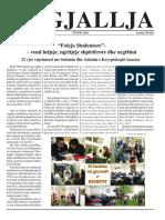 """Gazeta """"Ngjallja"""" Tetor 2016"""