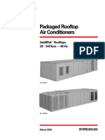 Packaged Rooftop Air Conditioner