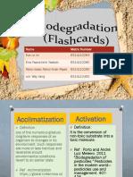 Biodegradation (Flashcards)