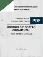 Controlo e Gestão Orçamental II