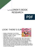 Children's Book Research.pptx