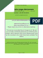 Yogasutra - Patanjali - Three Commentaries LAST