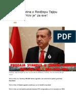 Šokantna Istina o Redžepu Tajipu Erdoganu
