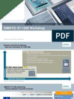 SIMATIC - S7-1200 Workshop (2016)
