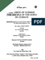 The vision of Gursikh in Gurbani - Dr. Amrit Raina Tract No. 480
