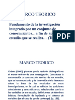 Marco Teorico Clases